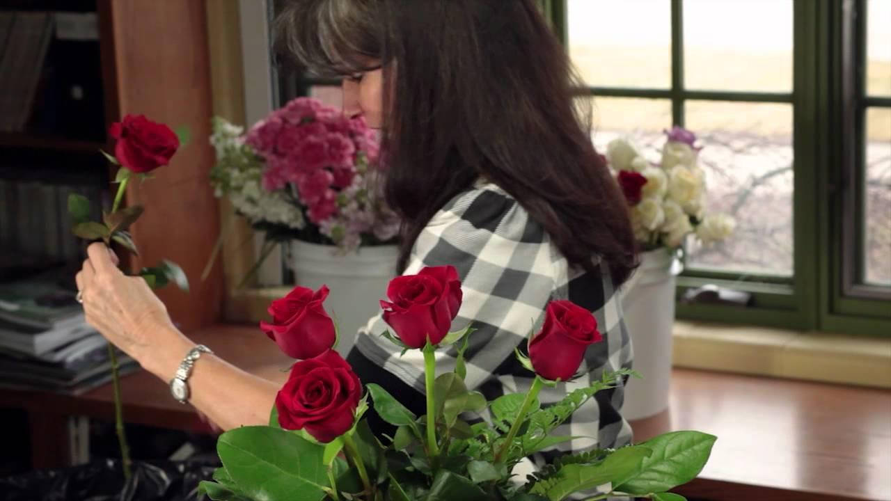 Diana ryan how to arrange a dozen roses youtube reviewsmspy