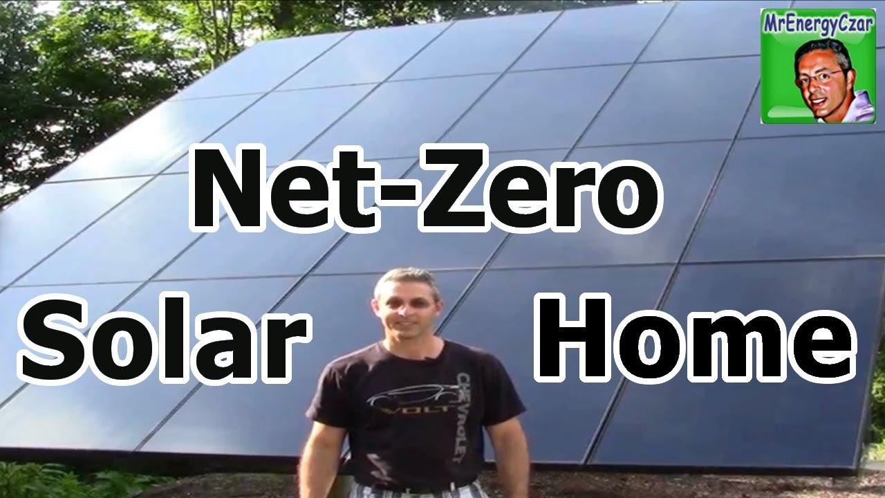 Solar Panels Netzero Solar Home Youtube