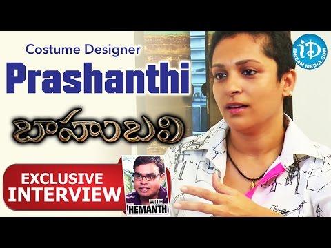 Baahubali Movie || Costume Designer Prashanthi Exclusive Interview || Talking Movies with iDream #11