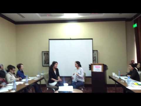 Communicating on video manual,speech project 1