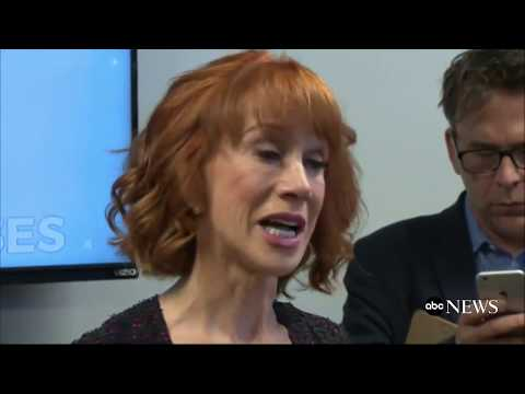 Kathy Griffin on Donald Trump photo scandal  FULL PRESS CONFERENCE