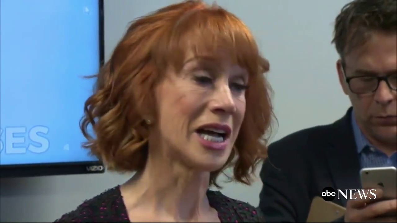 Kathy Griffin's Donald Trump press conference makes the D-list