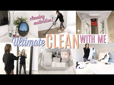 ULTIMATE CLEAN WITH ME 2020 // EXTREME CLEANING MOTIVATION // ALL DAY CLEAN WITH ME