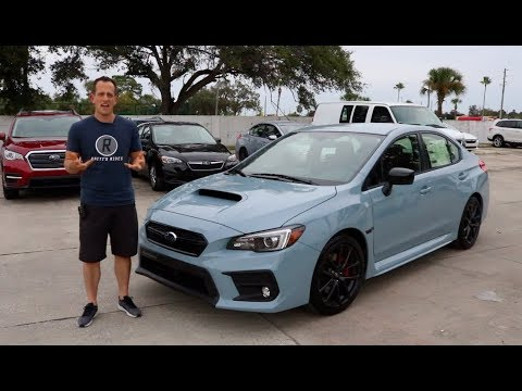 Why is the 2019 Subaru WRX Series Gray the ONE to BUY? - Raiti's Rides