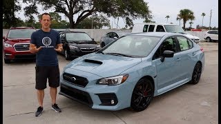 Why is the 2019 Subaru WRX Series Gray the ONE to BUY? - Raiti
