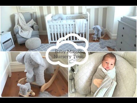 My Baby Boy's Nursery Tour 2016♡