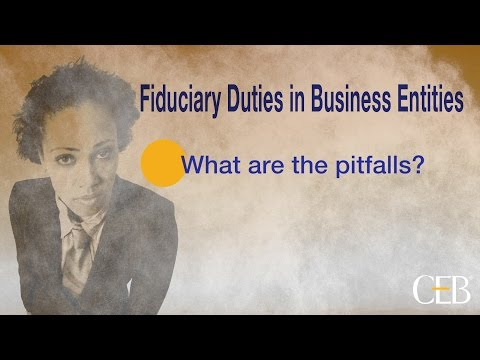 Understanding Fiduciary Duties in Business Entities