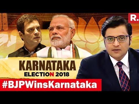 Karnataka In 2018 Swings Tempo For 2019? | The Debate With Arnab Goswami