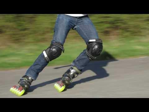 Les techniques de freinage en roller en descente : le parallèle