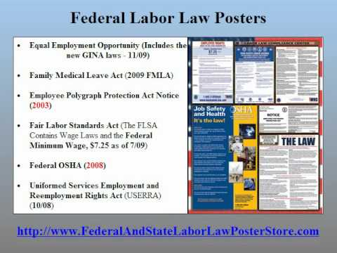 Wyoming Labor Law Posters 2011 http://FederalAndStateLaborLawPosterStore.com