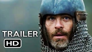 THE OUTLAW KING Official Trailer 2 (2018) Chris Pine Netflix Drama Movie HD
