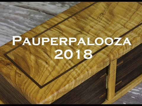 Pauperpalooza 2018 - Aaron Cain Custom Deck Boxes