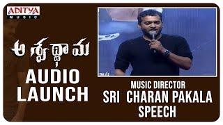Music Director Sri charan Pakala Speech Aswathama Audio Launch Naga Shaurya Mehreen