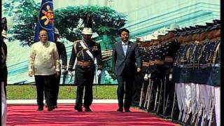 Welcome Ceremony in Honor of HE Shinzo Abe, Prime Minister of Japan 7/27/2013