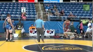 182 Jaron Smith vs. Jordan Thompson