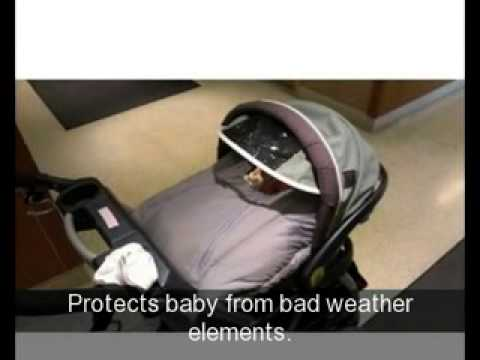 Jolly Jumper Infant Car Seat Cover - YouTube