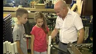 Процесс изготовления детских спортивных комплексов «Карусель» (репортаж ведут дети)