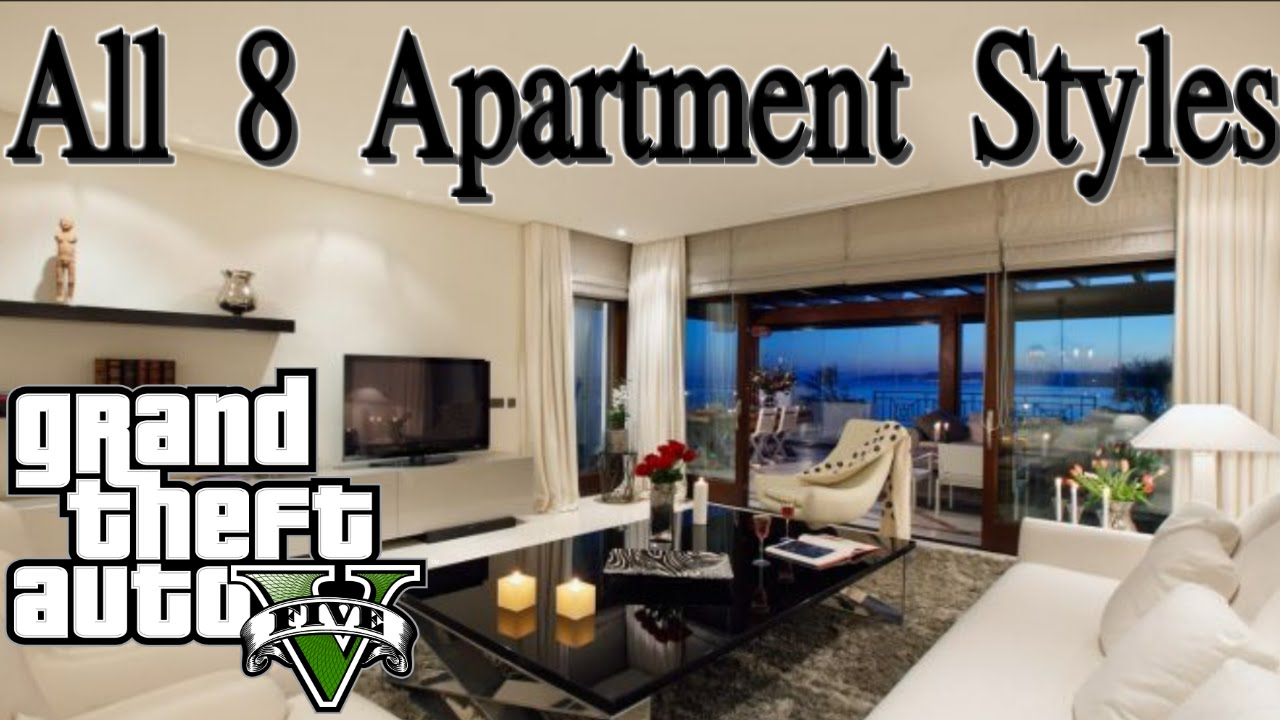Gta 5 Online All 8 Apartment Styles Quick Showcase Executives And Other Criminals Dlc You