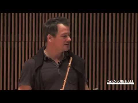 Carnegie Hall Flute Master Class with Emmanuel Pahud: Lowell