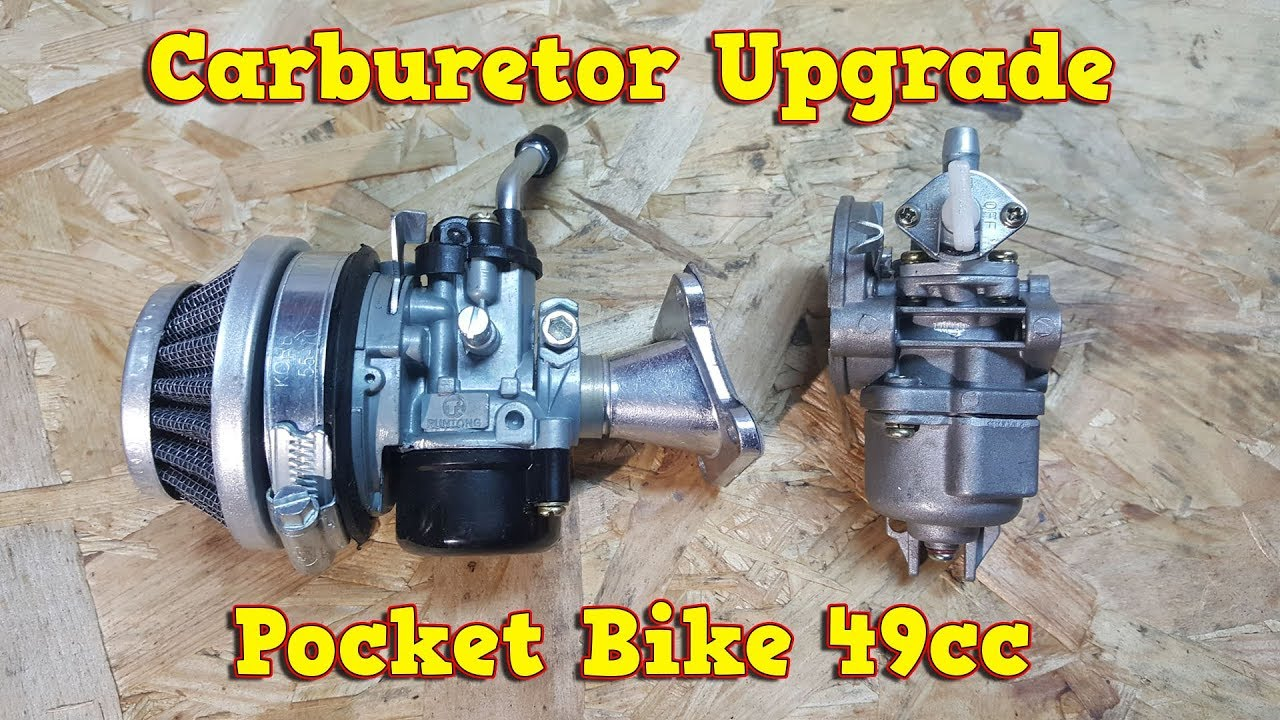 carburetor upgrade to 15mm in 49cc pocket bike engine instructions [ 1280 x 720 Pixel ]