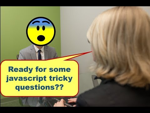 TOP 10 Tricky Javascript Questions asked in Job Interviews 😰😰 - part 1
