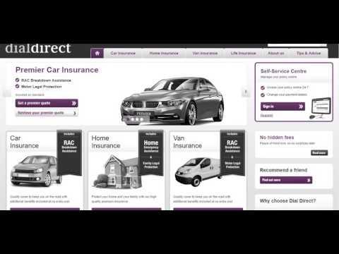 Car Insurance   Dial Direct