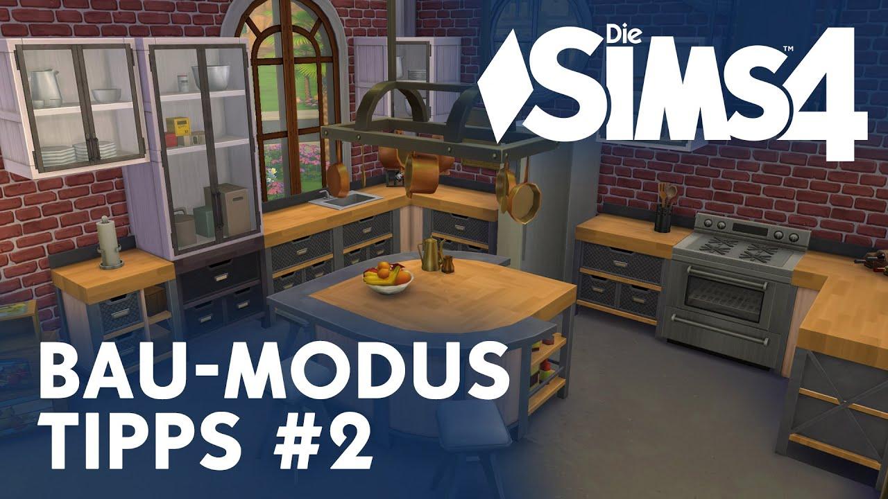 Die Sims 4 Bau-Modus Tipps #2 - YouTube