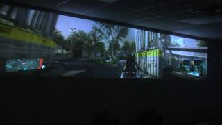 GeForce GTX 590 Triple Projector Ultimate Panoramic 3D Gaming Experience NCIX Tech Tips