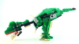 Tyrannosaurus rex Surprise egg - Lego compatible Creator Dinosaur set - Dinosaurs speed build