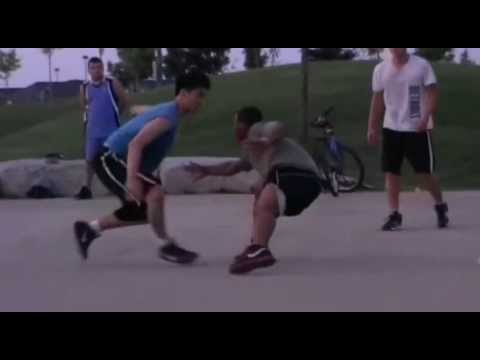 street fight asian vs black