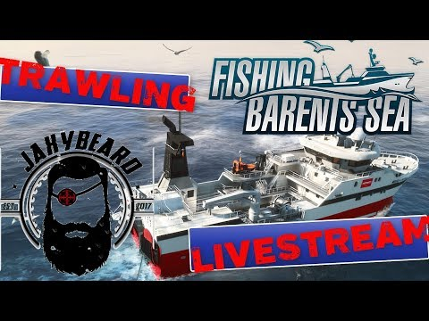 TRAWLING LIVE in FISHING BARENTS SEA! COMMUNITY HANG OUT!
