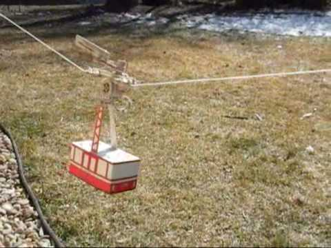 Solar Power Aerial Cable Car Power Youtube
