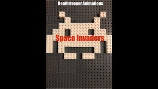 Space Invaders - Lego animation
