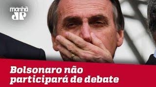 Bolsonaro não participará de último debate na TV nesta quinta (04), confirma médico