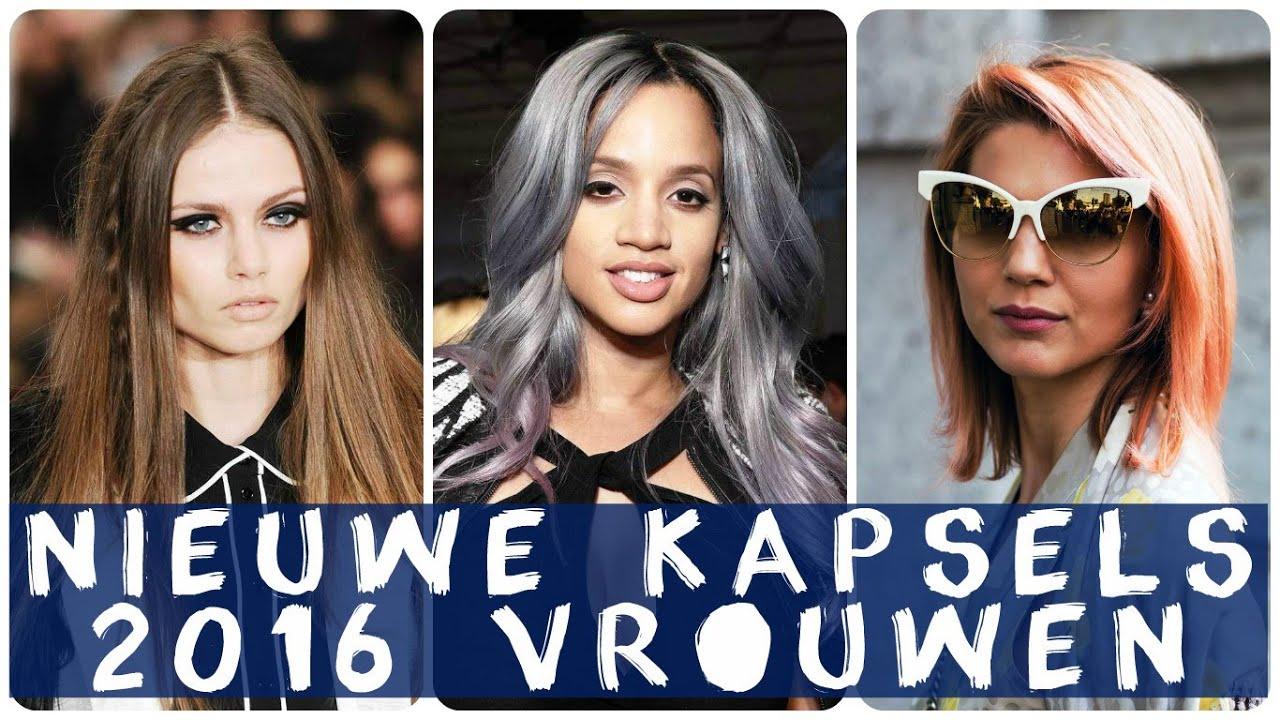 nieuwe dameskapsels 2016