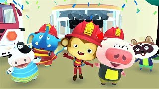 BABY PANDA SAVE THE DAY - Fun To Discover Firefighter - Fun Educational Games For Kids