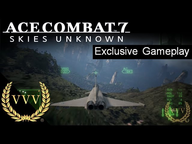 Ace Combat 7 Gameplay Demo
