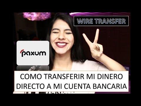 💕PAXUM💕EFT- Transfiere Tu Dinero A Tu Cuenta Bancaria/ Solicita Códigos De Confirmación