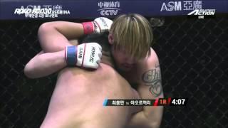 XIAOMI ROAD FC 030 Choi Hong-Man defeats Aorigele by TKO (Pounding)