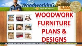 Woodwork Furniture Plans - Furniture Designs Plans