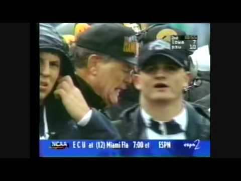 1996 Iowa at #10 Penn State Highlights