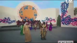 بمناسبة عيد الكويت العالمي قدمت النجمة أحلام أغنية مع النجم بشار الشطي