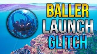 NEW INSANE BALLER LAUNCH GLITCH! SEASON 8 FORTNITE GLITCH