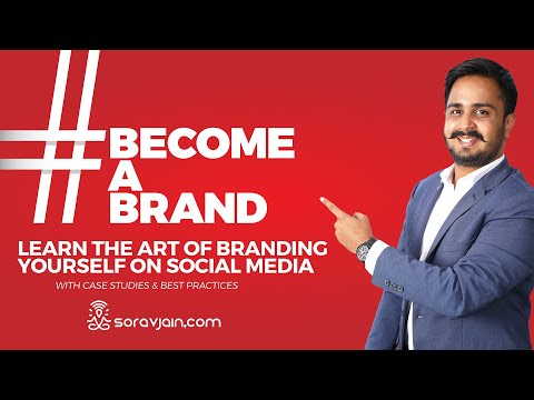A Book On Personal Branding On Social Media - #BecomeABrand