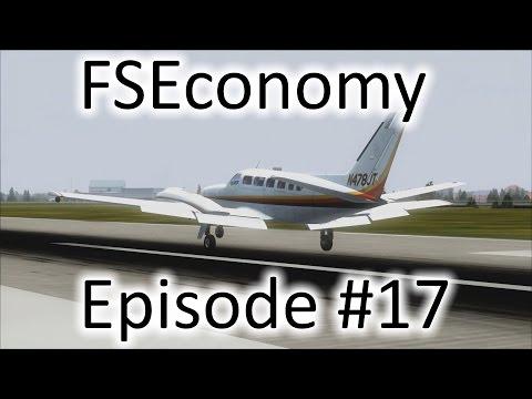 FSX   FSEconomy - Ep. #17 - Mexico City (MMMX) to Tampico (MMTM)   C404 Titan