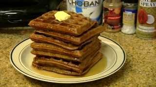 Protein Waffles Recipe - Healthy Breakfast