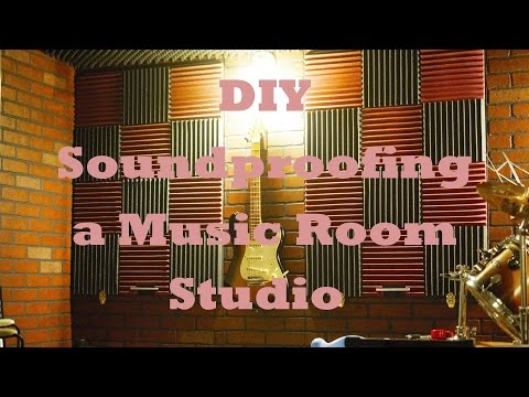 DIY / Soundproofing a Music Room / Studio