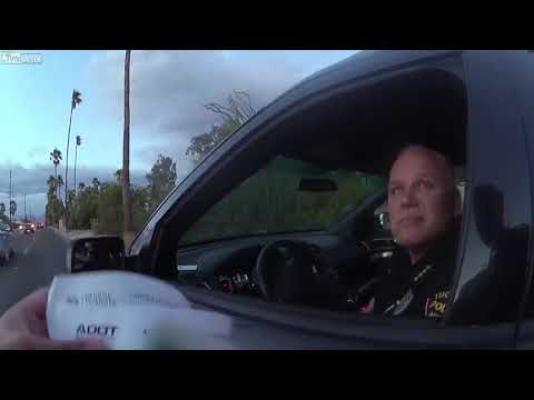 Tucson Police Officer Pulled Over, Warned For Traffic Violation