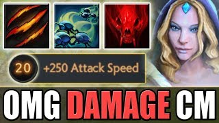 Super Attack Speed CM + Fury Swipes power [True Imba] Dota 2 Ability Draft