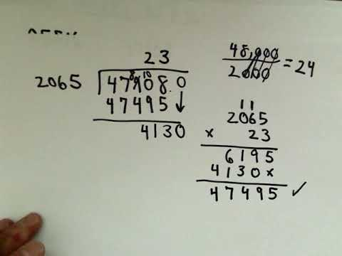 Divide 191 632 by 8 26 - A Hard Long Division Example